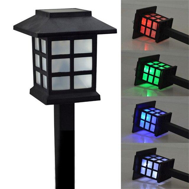 Thrisdar 4 STKS Waterdichte Cottage Stijl LED Solartuinlamp Outdoor ...
