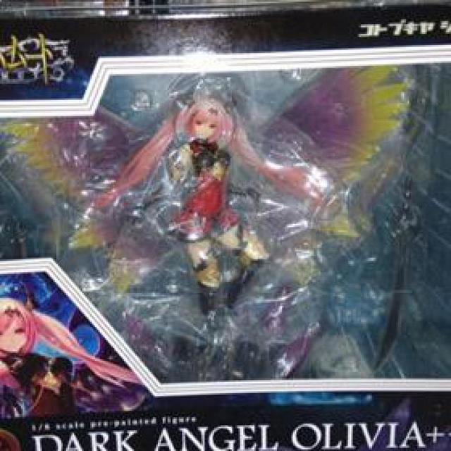 29cm Kotobukiya Rage Of Bahamutdark Angel Olivia Ani Statue Sexy Brinquedos Action Figure Anime Game Figure Action & Toy Figure