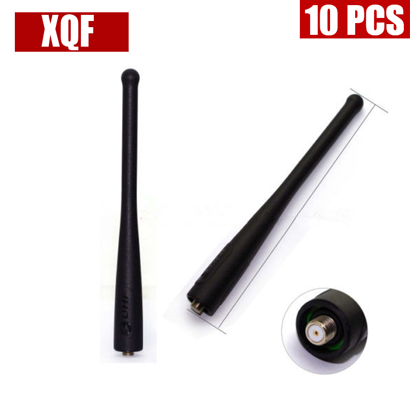 XQF 10PCS VHF 136-174 <font><b>MHz</b></font> Antenna For Vertex Yaesu <font><b>Radio</b></font> VX-110 150 160 <font><b>400</b></font> Two Way <font><b>Radio</b></font> image