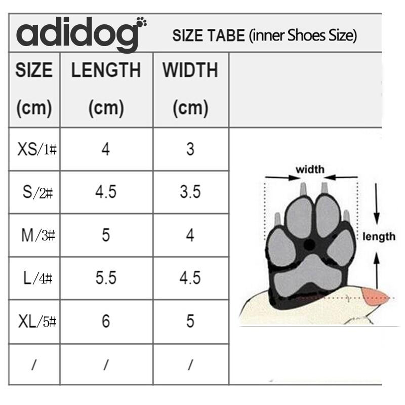 Sepatu Anjing peliharaan Musim Dingin Super Hangat 4 pcs / set Sepatu - Produk hewan peliharaan - Foto 6
