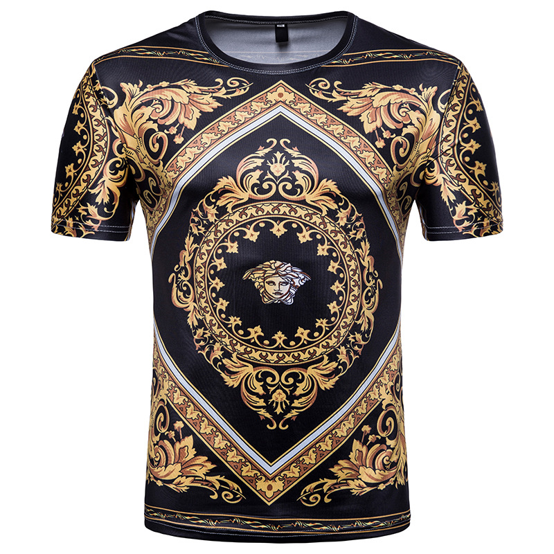 2019 Print Men   T  -  Shirt   3D Character Design Mens   T     Shirt   Summer Hipster Top Homme Tees Asian size