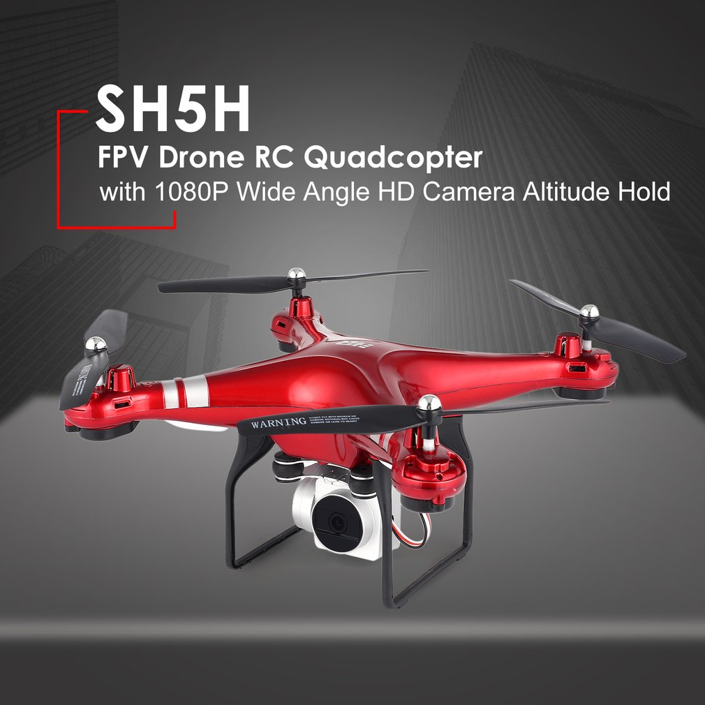 SH5H FPV Dron RC Quadcopter 1080P Wifi HD Camera Live Video Altitude Hold Mini dron Remote Control Helicopter RC Toy VS Syma x5c 2 4g altitude hold hd camera quadcopter rc drone wifi fpv live helicopter hover new remote control helicopter children toy