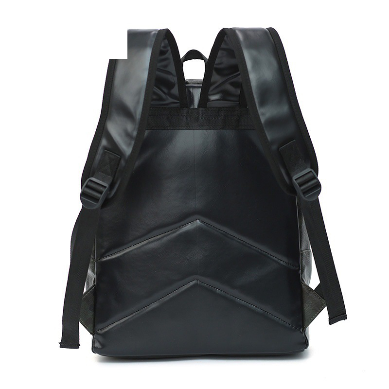 Men Camouflage PU Leather Backpack Rivets High Quality Casual Backpacks Youth School Bag Laptop Backpack Women Backpack 3