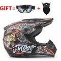 Envío gratis Top ABS rmotorcycle Clásico Casco de bicicleta MTB DH racing casco motocross downhill bike helmet Goggle Como Regalo