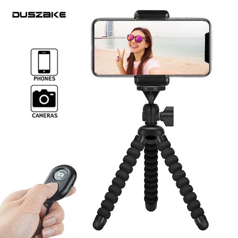 DUSZAKE Flexible Gorillapod Mini Tripod For Phone Gorillapod Camera Phone Tripod Mini For IPhone Xiaomi Phone Camera Accessories
