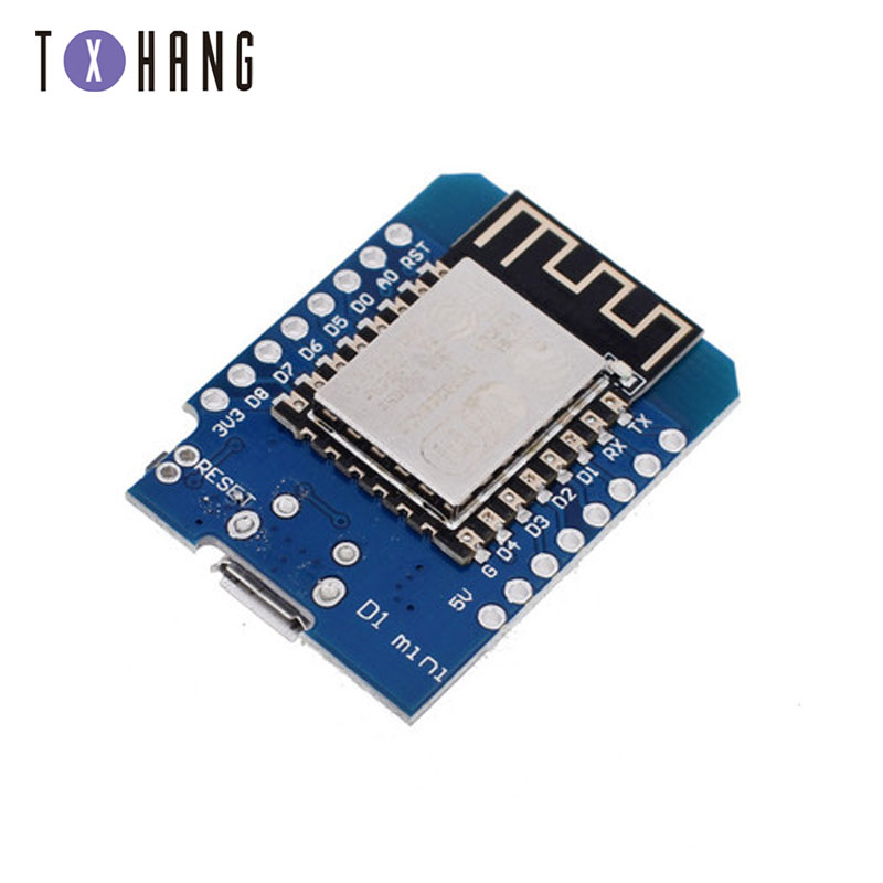 ESP8266 ESP-12 ESP12 WeMos D1 Mini Module Wemos D1 Mini WiFi Development Board Micro USB 3.3V Based On ESP-8266EX 11 Digital Pin