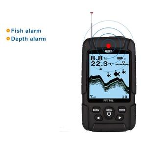 Image 5 - מזל FF718Li W נייד דגי Finder אלחוטי סונאר Fishfinder 45m דגי עומק מעורר מוצק
