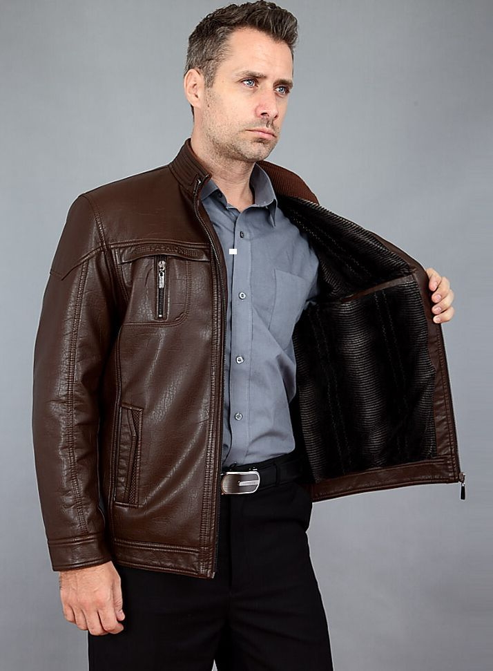 leather jacket men Picture - More Detailed Picture about ...