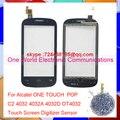 Один Мир Оригинальное Качество Для Alcatel ONE TOUCH POP C2 4032 4032D OT4032 Сенсорным Экраном Дигитайзер Датчик Pancel Бесплатная Доставка