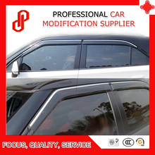 цена на High Quality Injection molding trim vent shade rain sun wind deflector window visor for MG3 2010 2011 2012 2013 2014 15 16 2017