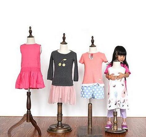 Nouveau 1-2 ans enfant bébé mannequins body sale, kafa makeni, enfants maniquis para ropa, présentoir, couleur antique, 1 pc, M00377