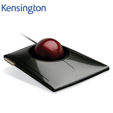 Kensington Original SlimBlade Media Control Trackball Optical USB Mouse for PC or Laptop with Large Ball K72327