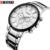 2016 nueva curren ultrl gran dial diseño retro de la moda de negocios reloj de lujo de acero inoxidable hombre reloj de pulsera de cuarzo reloj deportivo 8001