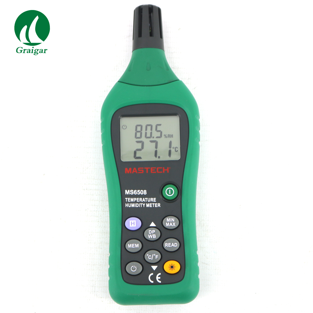 Digital High Precision Thermometer Hygrometer Temperature Humidity Meter MS6508 Range:-20 to 60CDigital High Precision Thermometer Hygrometer Temperature Humidity Meter MS6508 Range:-20 to 60C