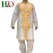2017 African Dress Clothing Real Dresses Men New Cotton 100%bazin Explosion Models Of Men's Style Cloth Embroidered Dashiki