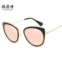 Фотография Cat Eye Fashion Sunglasses Male Lentes De Mujer Mirror Quality Glasses Women Brand Designer Oculos Polarized Ladies Eyewear