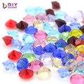 120 piezas de Color de mezcla de la Ronda 5mm piedra flotante encantos joyería de vidrio flotante medallón LSFC112 * 120