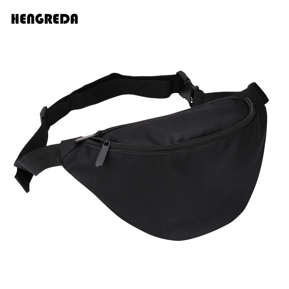 2018 Waist Bag Fanny Pack, Women's Belt Bag Bum Hip Pocket Hengreda Travel Hip Bag 600D Festival Party Chest Daypack, Belt 130cm