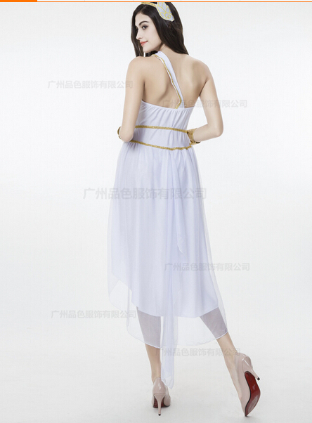 Free shipping Costume For Adult Women Halloween Carnival Christmas Cosplay Costumes Fancy Dress Party sexy Greek Goddess Costume