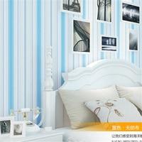 Beibehang不織布壁紙地中海ウォーマー寝室リビングルーム壁の背景テレビエッジ環境保護