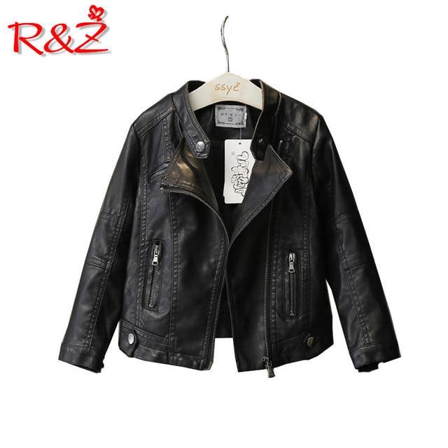 Denim  Leather Jacket  Children Clothing Coat 1