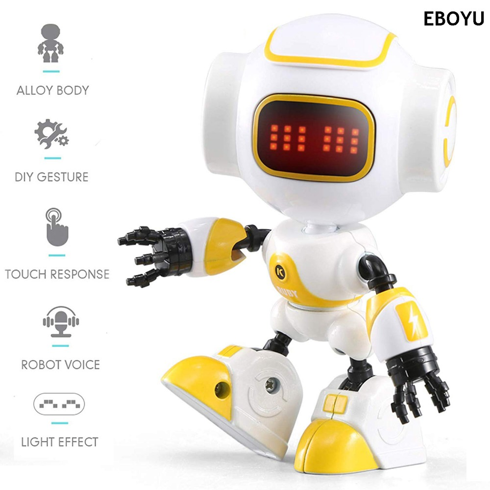 JJRC R9 LUBY Intelligent Robot Touch Control DIY Gesture Talk Smart Mini RC Robot Gift Toy