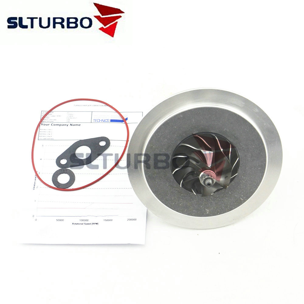 Turbocharger core repair kit for KIA Sorento 2.5 CRDI D4CB 103Kw 140HP 733952 5001S cartridge turbine Garrett GT1752S 282004A101
