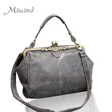 2016 nouvelle mode femmes plus réel marque vintage sacs rétro en cuir PU fourre-tout sac messenger sacs petit embrayage sacs à main d'épaule BG29