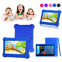 Reliable Kids Tablet PC 7 Android 4 4 Case Bundle Dual Camera 1 2Ghz Wi Fi