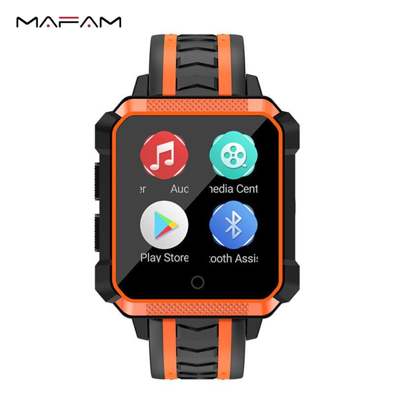 MAFAM 4G Smart Band Bracelet Airpressure IP68 Professional Waterproof 1GB+8GB H7 Smart Watch Band Heart Rate For IOS Android mafam 4g sim card smart bracelet airpressure 1g 8g heart rate professional waterproof h7 smart band for iphone huawei xiaomi