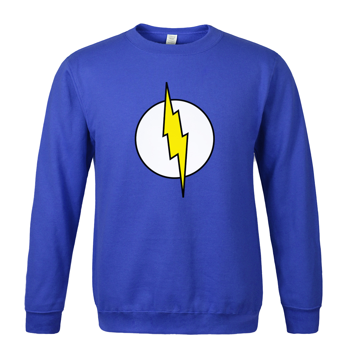 2019 men's sportswear Lightning Le Big Bang Theory Sheldon Cooper Foudre fleece hoodies sweatshirt tracksuits Crossfit hoody