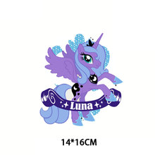 Cute Small Animal Cartoon Iron on Patches Unicorn Heat Transfer Stickers Badges Clothing Applications Clothes Decor DIY T-shirt