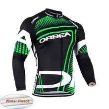 2017 Orbea Pro Winter Fleece Thermal Cycling Jersey Wear Clothing Maillot Ropa Ciclismo MTB Bike Bicycle Clothes Sportwear K9