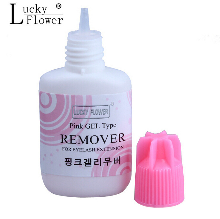 21fc8073b5f 15ml Mild No Irritation Eyelash Glue Remover Adhesive Remover for False  Eyelash Extension Makeup Remover Pink Gel Type