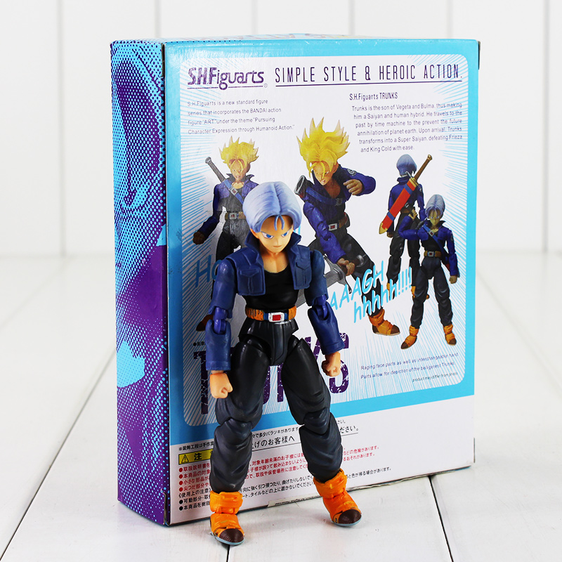 Image 3 - Trunks SHFiguart Dragon Ball Z dragonball PVC Figure Toy with Box-in Action & Toy Figures from Toys & Hobbies