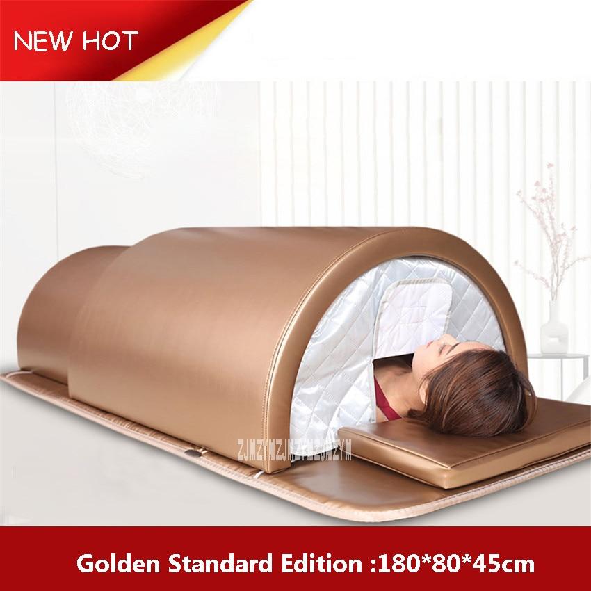 FXY-125 Household Energy Steaming Cabin Sweating Steamer Detox Acid Wet Sauna Box Health Machine 110V/220V/230V 1200W 0-60min