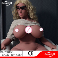 Cosdoll 162cm Full Size Large Bust Big Ass Silicone Sex Dolls Strong Women Doll Female Sex Doll For Men Oral Anal Vaginia Sex