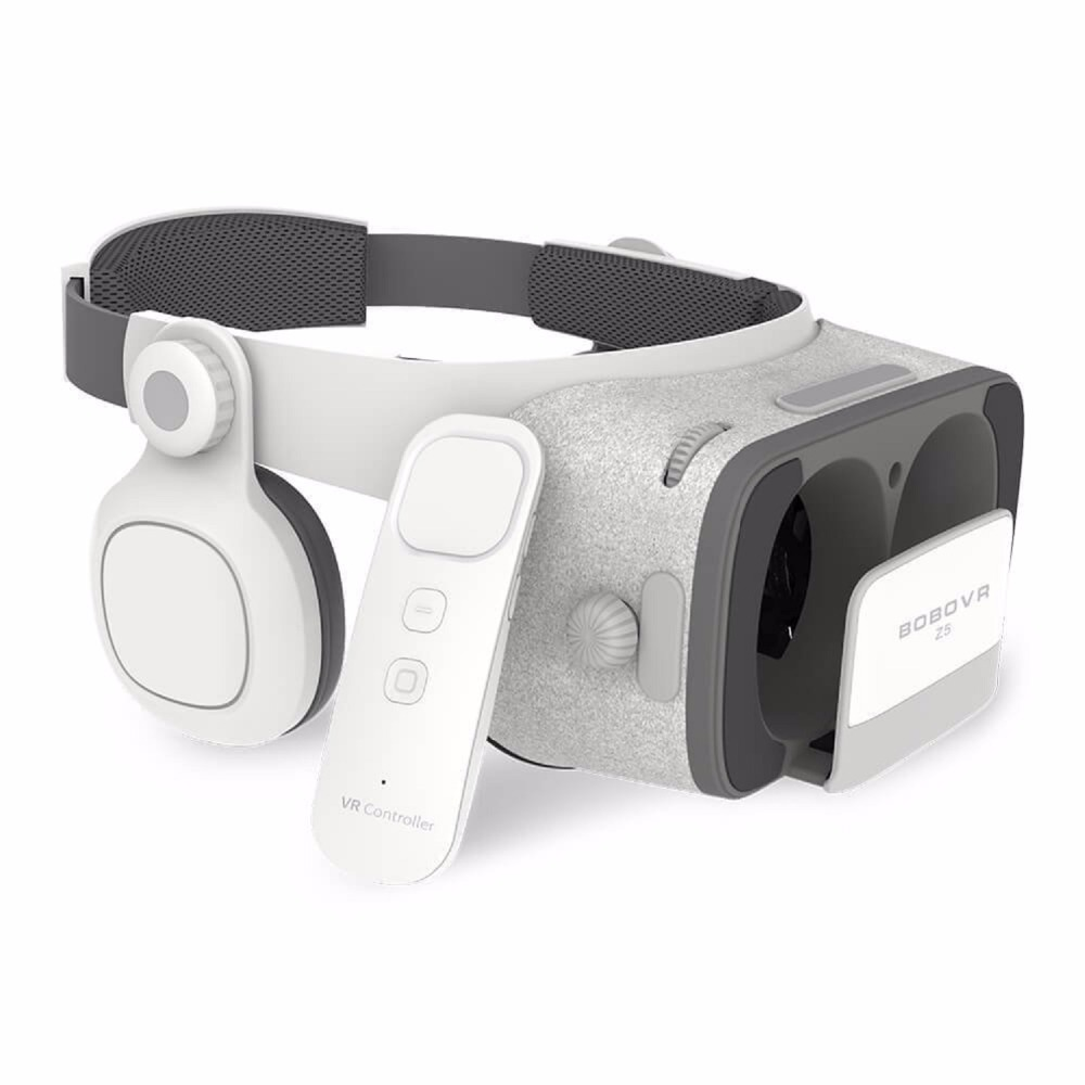 Moveksi BOBO <font><b>VR</b></font> Z5 Daydream View 3D <font><b>VR</b></font> <font><b>Headset</b></font> with Remote Controller FOV 120 <font><b>IPD</b></font> <font><b>Focus</b></font> Adjustable for Daydream Smartphones