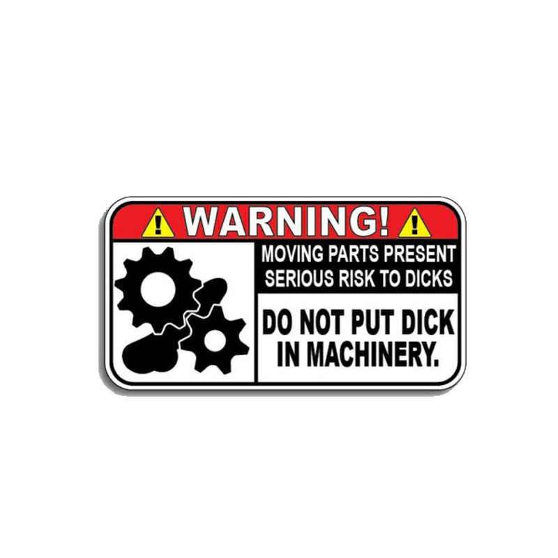 YJZT 10,4 см * 5,5 см забавные Предупреждение в прокат машин Стикеры Светоотражающие ПВХ наклейка 12-1172