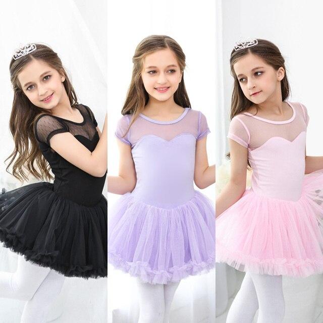 ca2d84aa8c68 Kids dancewear dance Tulle Dress Suspender Girl Ballet Dress ...