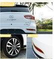 8 М/лот Автомобиля Хромирование Внешний Обод Двери Решетка Для Hyundai i20 i30 i35 iX20 iX35 Solaris Стайлинга Наклейки Аксессуары