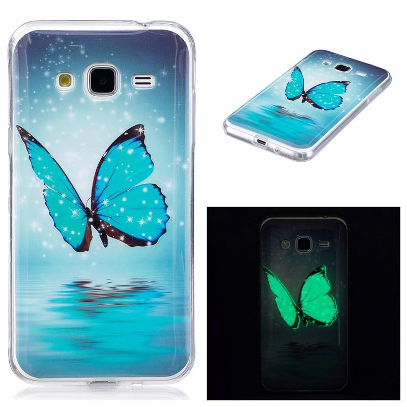 "For Samsung J3 2015 J300 Case Animal Anime Luminous Silicon TPU Skin Back Cover Case for Samsung Galaxy J3 2015 J300 J300F 5.0"""