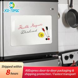 Зинди A3 30*42 см Гибкие магниты на холодильник доски водонепроницаемый дети рисования сообщение доска магнитная холодильник Memo Pad FM02