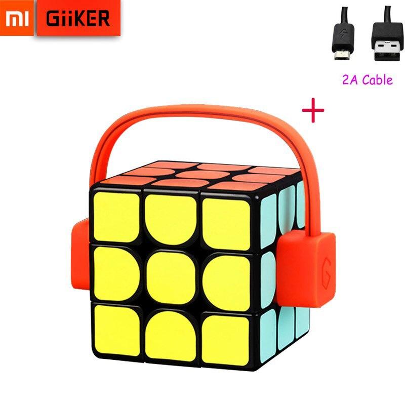 Xiaomi Mijia Giiker Super Smart Cube App Remote Comntrol Professional Magic Cube Puzzles Colorful Educational Toys For Man Woman