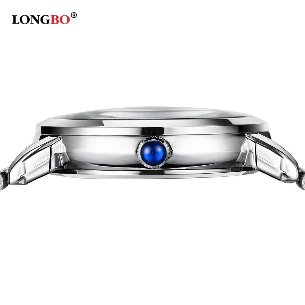 2eb8e81b67b3f6 Männer Frauen Bestseller Longbo Marke Sport Business Armbanduhr Uhr Mode  accessoires Edelstahl Armbanduhr 80023 in Männer Frauen Bestseller Longbo  Marke ...