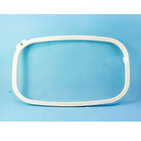 Big Size 38*52cm Rectangle Embroidery Hoop Plastic Hoops Hand Cross Stitch Square frame Machine Accessories Ring