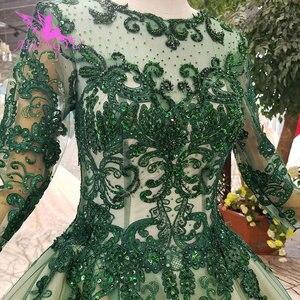 Image 3 - AIJINGYU فساتين فاخرة على الانترنت ثوب أبيض طويل لحفلات الزفاف عينة حقيقية الزفاف كوريا الدانتيل 2021 2020 فساتين الغجر فستان الزفاف