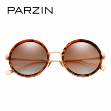 PARZIN 2017 Women's Sunglasses Vintage Steampunk Brand Designer Sun Glasses For Men Coating Mirror Eye glasses Accessories 8093