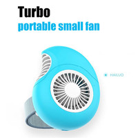 HIPERDEAL 1500mAh Mini Fans Turbo Portable Mini Fan USB Rechargeable Portable Fans Desktop Outdoor Turbine Portable Small Fan