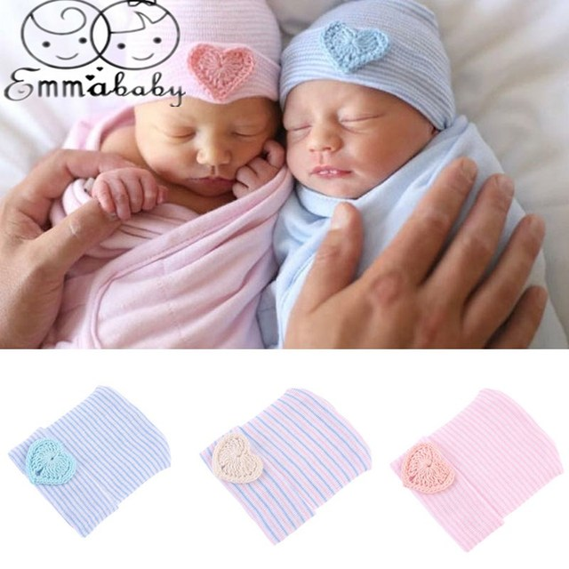 935c3f9596b Emmababy Cute Newborn Baby Infant Girl Toddler Comfy Bowknot Hospital Cap  Warm Beanie Hat
